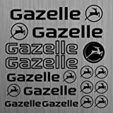 Gazelle aufkleber sticker decal fahrrad bike 15...