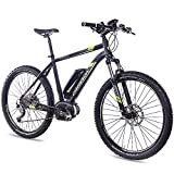 CHRISSON 27,5 Zoll E-Bike, E-Mountainbike Pedelec...