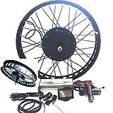 3000W Hub Motor Electric Bike Conversion Kit...