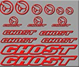 Ecoshirt 0W-O0FL-EU8U Aufkleber Ghost Bici R207...