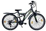 26 Zoll Mountainbike 18 Gang Shimano Vollgefedert...