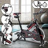 Physionics Heimtrainer Fahrrad | Ergometer,...
