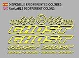 Ecoshirt N1-YFRM-Z0ME Aufkleber Ghost F188 Vinyl...