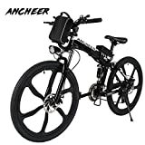 Ancheer e Bike 26Zoll E- Bike Mountainbike,...