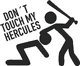 SUPERSTICKI Dont Touch My Hercules ca 20cm...