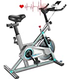 ANCHEER Heimtrainer, Fitnessbike Indoor Cycling...