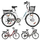HECHT leichtes 26 Zoll City E-Bike Elektrofahrrad...