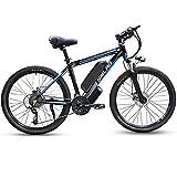 1000W Elektrofahrrad 26Zoll E-Bike Mountainbike,...