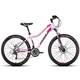 Damen Mountain Bikes, 21-Gang-Doppelscheibenbremse...