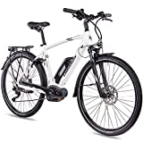 CHRISSON 28 Zoll Herren Trekking- und City-E-Bike...