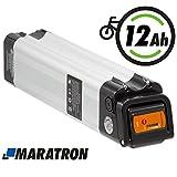 Maratron E-Bike Akku Pedelec 24V (25,9V) 12Ah für...