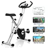 ANCHEER F-Bike Advanced Heimtrainer, Klappbar...