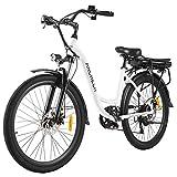 ANCHEER 26' Elektrofahrrad, Stadt E-Bike Cruiser...