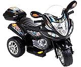 HM-Active Kinder Elektromotorrad Trike Black Racer...