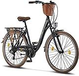 Licorne Bike Violetta (Schwarz) 28 Zoll...