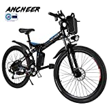 ANCHEER Elektrofahrrad Faltbares Mountainbike, 36V...