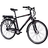 CHRISSON 28 Zoll E-Bike Trekking und City Bike...