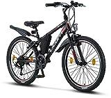 Licorne Bike Guide Premium Mountainbike in 24 Zoll...