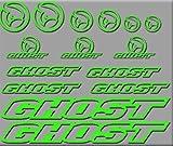Ecoshirt 5M-FMSX-K359 Aufkleber Ghost Bike R207...
