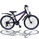 Talson 24 Zoll Mountainbike Fahrrad MIT...