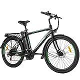 ANCHEER 26' E-Bike mit Abnehmbarer 10Ah Akku,...