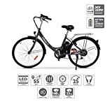 Nilox E Bike X5, Elektro Fahrrad, Schwarz, One...