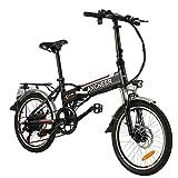 ANCHEER E-Bike Elektrofahrrad, 20 Zoll Pedelec...
