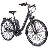 CHRISSON 28 Zoll Damen Trekking- und City-E-Bike -...
