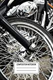 Composition Notebook: Cars Harley Davidson...