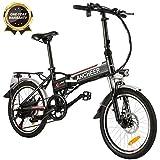 ANCHEER Elektrofahrrad, 20-Zoll E-Bike für...