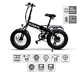 Nilox E Bike X4, Elektro Fahrrad, Schwarz, One...