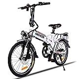 ANCHEER Elektrofahrrad, Faltbares E-Bike Faltrad,...