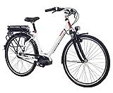 Telefunken E-Bike Elektrofahrrad Alu, weiß, 8...