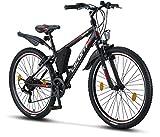 Licorne Bike Guide (Schwarz/Rot/Grau), 26 Zoll...