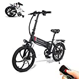 SAMEBIKE Elektro Fahrrad mit Fernbedienung 20 Zoll...
