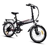 ANCHEER Elektrofahrrad Faltbares E-Bike, 20...